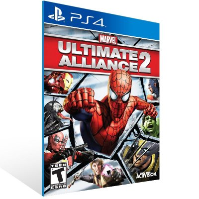 PS4 - Marvel: Ultimate Alliance 2 - Digital Código 12 Dígitos US