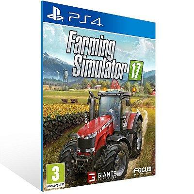 PS4 - Farming Simulator 17 - Digital Código 12 Dígitos Americano