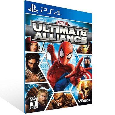 Ps4 - Marvel: Ultimate Alliance - Digital Código 12 Dígitos US