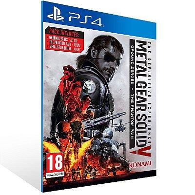 PS4 - Metal Gear Solid V: The Definitive Experience - Digital Código 12 Dígitos US