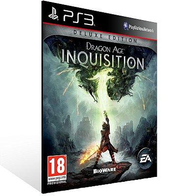 PS3 - Dragon Age: Inquisition Deluxe Edition - Digital Código 12 Dígitos Americano