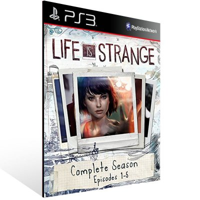 PS3 - Life is Strange Complete Season - Digital Código 12 Dígitos Americano