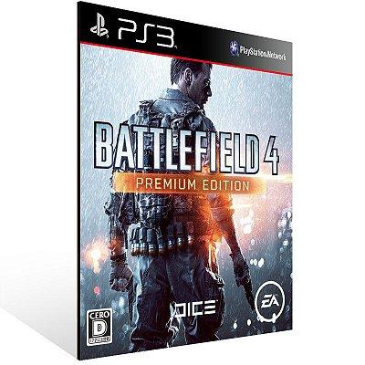 PS3 - Battlefield 4 Premium Edition - Digital Código 12 Dígitos Americano