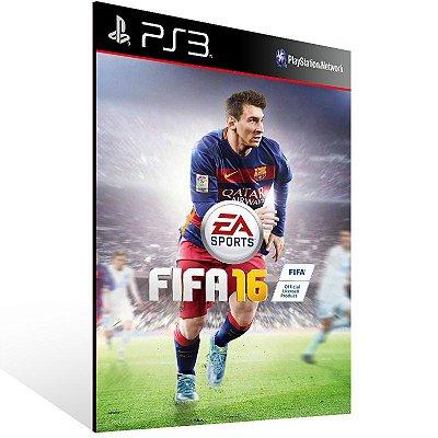 PS3 - EA SPORTS FIFA 16 - Digital Código 12 Dígitos Americano
