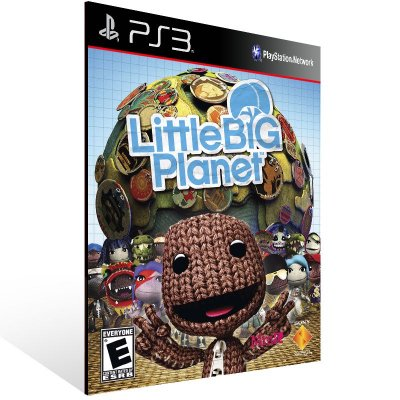 Ps3 - LittleBigPlanet - Digital Código 12 Dígitos US