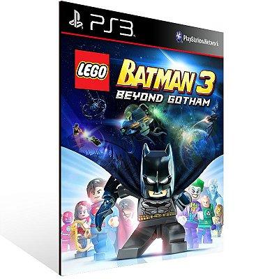 PS3 - LEGO Batman 3 Beyond Gotham - Digital Código 12 Dígitos Americano