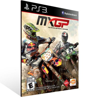 PS3 - MXGP - The Official Motocross Videogame - Digital Código 12 Dígitos Americano