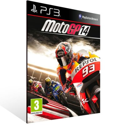 PS3 - MotoGP 14 - Digital Código 12 Dígitos Americano
