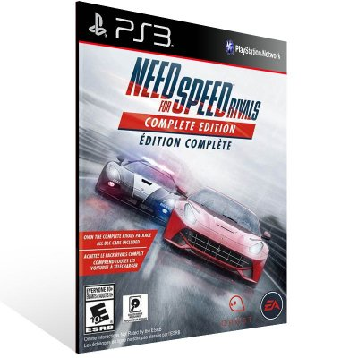 PS3 - Need for Speed Rivals: Complete Edition - Digital Código 12 Dígitos Americano