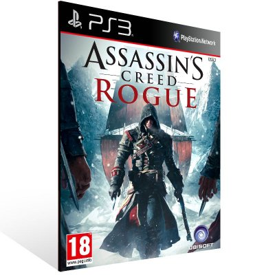 Ps3 - Assassins Creed Rogue - Digital Código 12 Dígitos US