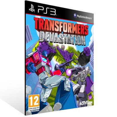 Ps3 - TRANSFORMERS: Devastation - Digital Código 12 Dígitos US