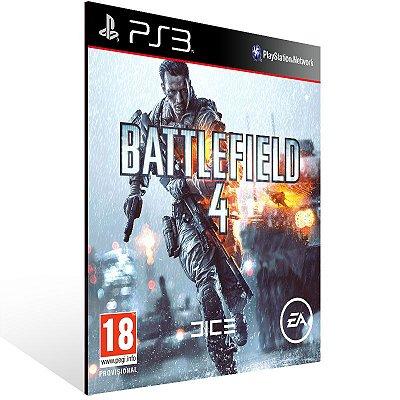 PS3 - Battlefield 4 - Digital Código 12 Dígitos Americano