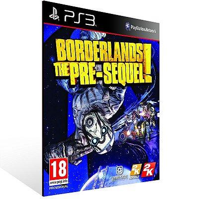 Ps3 - Borderlands The Pre-Sequel - Digital Código 12 Dígitos US