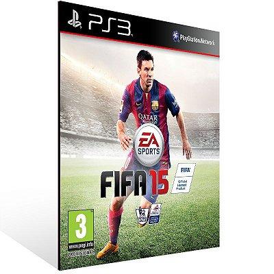 PS3 - FIFA 15 - Digital Código 12 Dígitos Americano