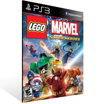 Ps3 - LEGO Marvel Super Heroes - Digital Código 12 Dígitos US