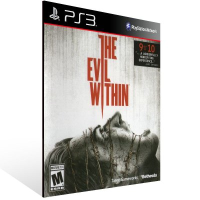 PS3 - The Evil Within - Digital Código 12 Dígitos Americano