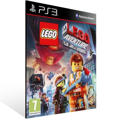 PS3 - The LEGO Movie Videogame - Digital Código 12 Dígitos Americano