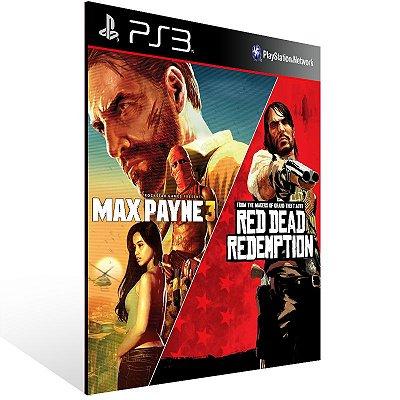 Ps3 - Max Payne 3 Complete Edition & Red Dead Redemption Bundle - Digital Código 12 Dígitos US