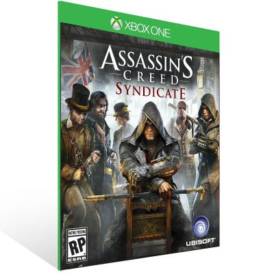 Xbox One - Assassin's Creed Syndicate - Digital Código 25 Dígitos Brasileiro