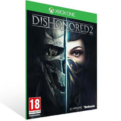 XBOX One - Dishonored 2 - Digital Código 25 Dígitos Brasileiro