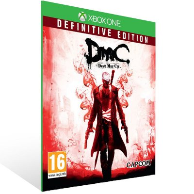 Xbox One - DmC Devil May Cry Definitive Edition - Digital Código 25 Dígitos Brasileiro