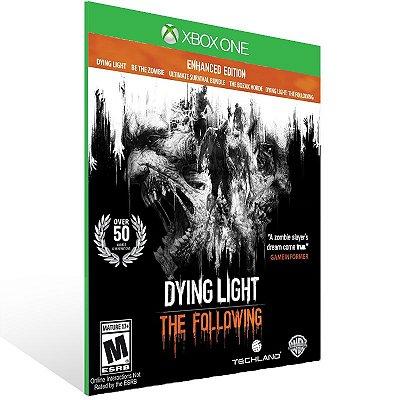 XBOX One - Dying Light: The Following - Enhanced Edition - Digital Código 25 Dígitos Brasileiro