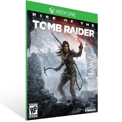 XBOX One - Rise of the Tomb Raider - Digital Código 25 Dígitos Brasileiro