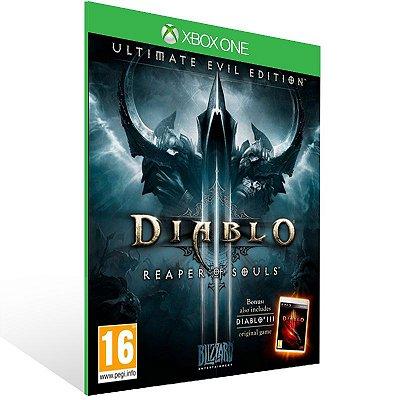 Xbox One - Diablo III: Reaper of Souls - Ultimate Evil Edition - Digital Código 25 Dígitos Brasileiro
