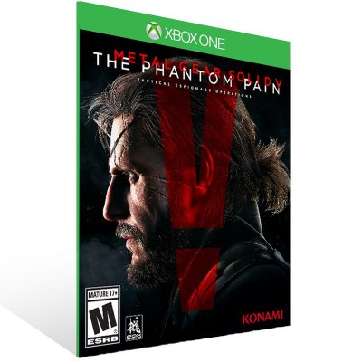 Xbox One - Metal Gear Solid V The Pain - Digital Código 25 Dígitos  Brasileiro