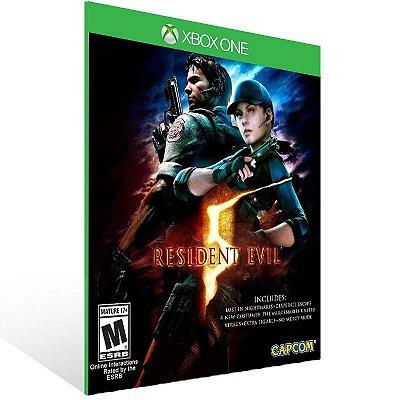 XBOX One - Resident Evil 5 - Digital Código 25 Dígitos  Brasileiro