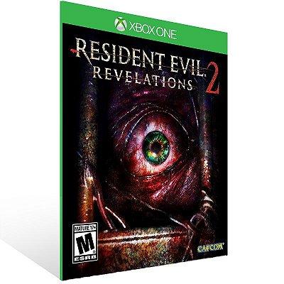 XBOX One - Resident Evil Revelations 2 Deluxe Edition - Digital Código 25 Dígitos  Brasileiro