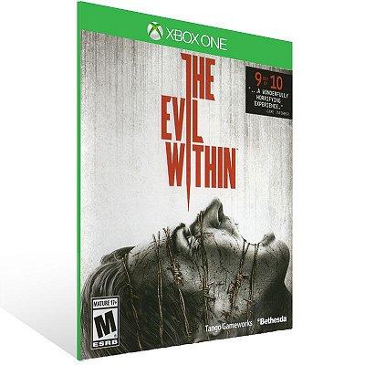 XBOX One - The Evil Within - Digital Código 25 Dígitos  Brasileiro