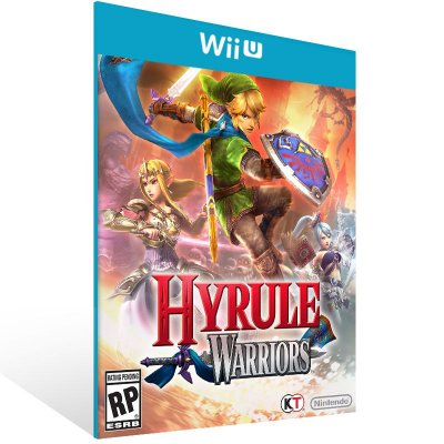 Wii U - Hyrule Warriors - Digital Código 16 Dígitos US