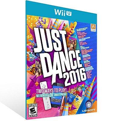 Wii U - Just Dance 2016 Gold Edition - Digital Código 16 Dígitos Americano