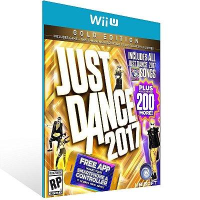 Wii U - Just Dance 2017 Gold Edition - Digital Código 16 Dígitos US