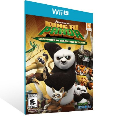 Wii U - Kung Fu Panda: Showdown of Legendary Legends - Digital Código 16 Dígitos US