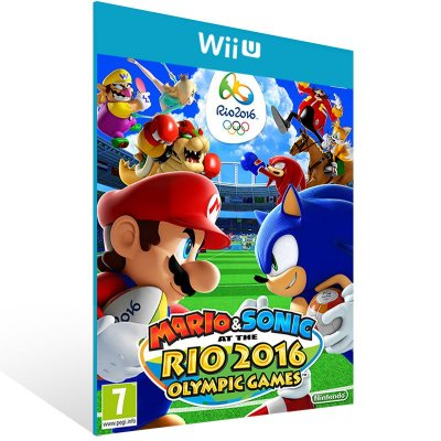 Wii U - Mario & Sonic at the Rio 2016 Olympic Games - Digital Código 16 Dígitos US