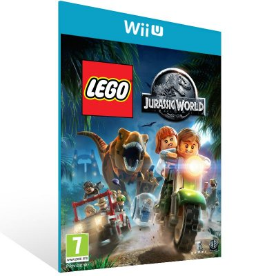 Wii U - LEGO Jurassic World - Digital Código 16 Dígitos US