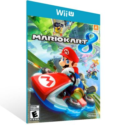 Wii U - Mario Kart 8 - Digital Código 16 Dígitos Americano