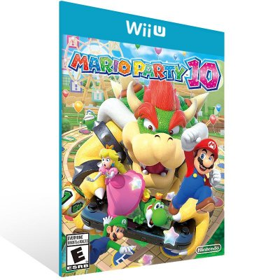 Wii U - Mario Party 10 - Digital Código 16 Dígitos Americano