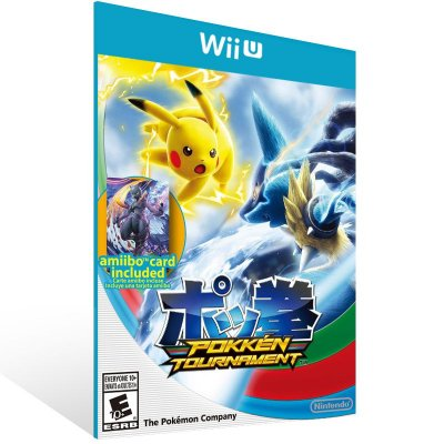 Wii U - Pokkén Tournament - Digital Código 16 Dígitos US