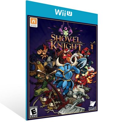 Wii U - Shovel Knight - Digital Código 16 Dígitos US