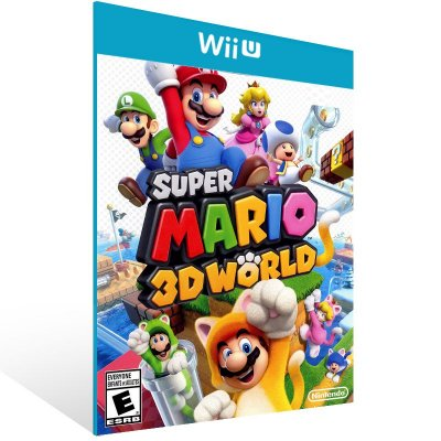 Wii U - Super Mario 3D World - Digital Código 16 Dígitos US
