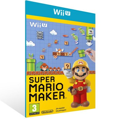 Wii U - Super Mario Maker - Digital Código 16 Dígitos US