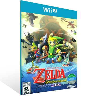 Wii U - The Legend of Zelda: The Wind Waker HD - Digital Código 16 Dígitos US