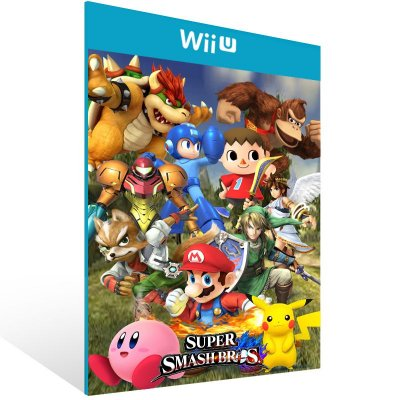 Wii U - Super Smash Bros. - Digital Código 16 Dígitos US