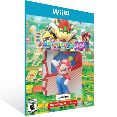 Wii U - Mario Party 10 Bundle - Digital Código 16 Dígitos US