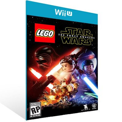 Wii U - LEGO Star Wars: The Force Awakens - Digital Código 16 Dígitos US