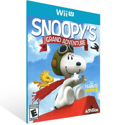 Wii U - The Peanuts Movie: Snoopy's Grand Adventure - Digital Código 16 Dígitos Americano