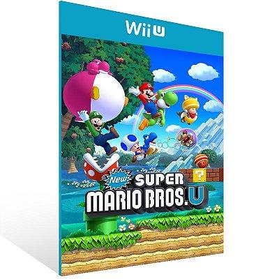 Wii U - New Super Mario Bros. U - Digital Código 16 Dígitos US